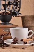 чашка кофе с пряностями — Стоковое фото