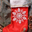 Christmas stocking — Stockfoto