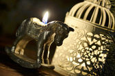 Weihnachten-pferd — Stockfoto