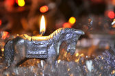 Caballo de navidad — Foto de Stock