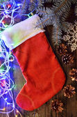 Christmas stocking — Foto Stock
