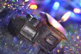 Kerstmis locomotief — Stockfoto