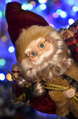 Jultomten med gåvor — Stockfoto
