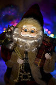 Santa claus with gifts — Stok fotoğraf