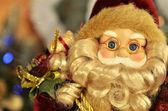 санта-клаус с подарками — Стоковое фото