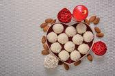 Caramelos en forma de corazón — Foto de Stock