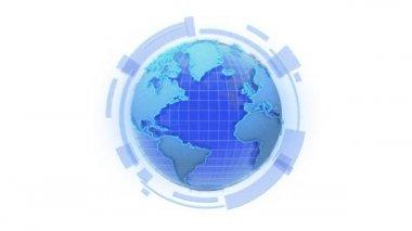 Global internet. — Stock Video