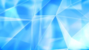 Diamonds blue background with flares. HD 1080. Loopable. — Stock Video