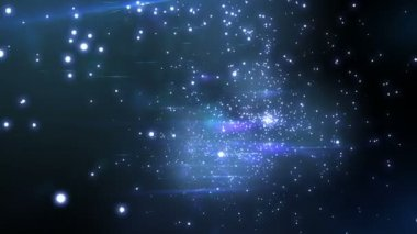 Endless Stars, flying through space. Looped animation. HD 1080. — Stock Video
