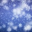 Snowflakes falling. HD 1080. Looped animation. — Stock Video