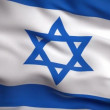 Flag of Israel — Stock Video
