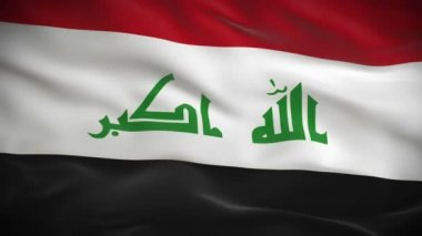 Flag of Iraq — Stock Video
