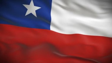 Flag of Chile — Stock Video