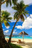 белый пляж, остров боракай, филиппины — Стоковое фото