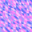 Stock Photo: Retro Triangular Wallpaper