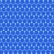 Blue pentagon Octagon Geometric Seamless Pattern — Stockvectorbeeld