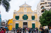 St. dominic kirche — Stockfoto