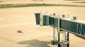 Empty Boarding Gate — Stock Photo