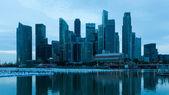 Singapur za svítání — Stock fotografie