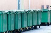 分类回收箱 — 图库照片