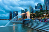 Merlion — Stock Photo