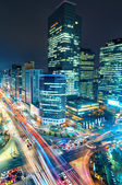 Gangnam Traffic — Stock Photo