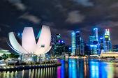 Singapore skyline — Stockfoto