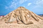 Busan Sand Festival — Stock Photo