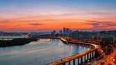 Seoul Sunset — Foto de Stock