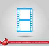 Film movie vector icon — Stockvektor