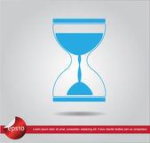 Hourglass vector icon — Stock Vector
