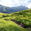 The Alps in Vorarlberg — Stock Photo