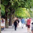 Stroll in Bregenz — Stock Photo