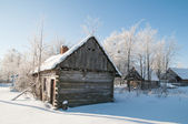 Abandoned hut — Stock Photo