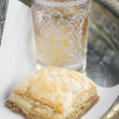 Baklava and Tea — Stock Photo