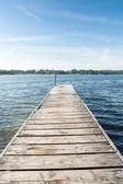 Jetty on a Lake — Stock Photo