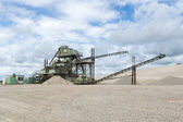 Gravel pit — Stock Photo
