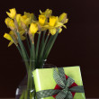 Lent lily daffodil — Stock Photo