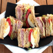 Club sandwiches — Stock Photo #30090205