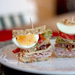 Club sandwiches — Stock Photo