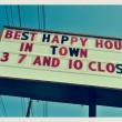 Foto de Stock  : Happy Hour