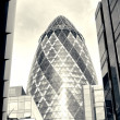 Stock Photo: St Mary's Axe,Gherkin, London