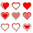 Hearts — Stock Vector #29415361