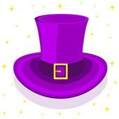Magic сylinder hat, vector illustration — Stok Vektör