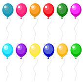 Set of balloons — Stock Vector