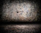 Parede de idade antiga — Foto Stock