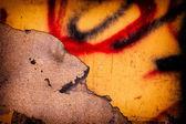 ścianie graffiti — Zdjęcie stockowe