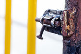 Rusty Lock — Stock Photo