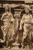Starożytnej grecji, marmurowy posąg ciała i twarzy — Zdjęcie stockowe