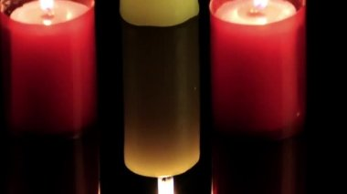 Candle Light — Stockvideo